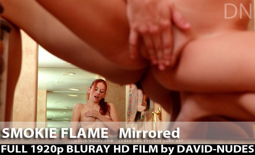 Smokie Flame - `Mirrored` - by David Weisenbarger for DAVID-NUDES