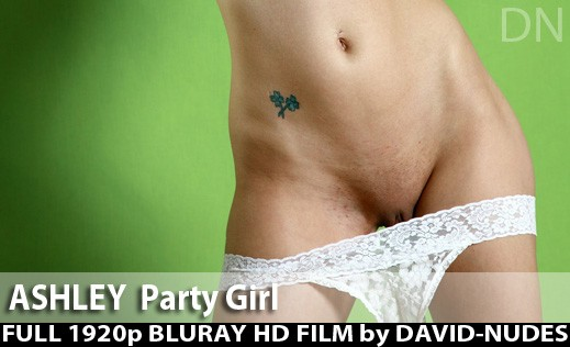 Ashley - `Party Girl` - by David Weisenbarger for DAVID-NUDES
