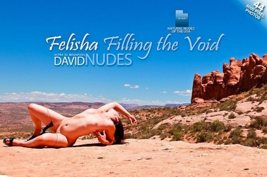 Felisha - `Filling The Void` - by David Weisenbarger for DAVID-NUDES