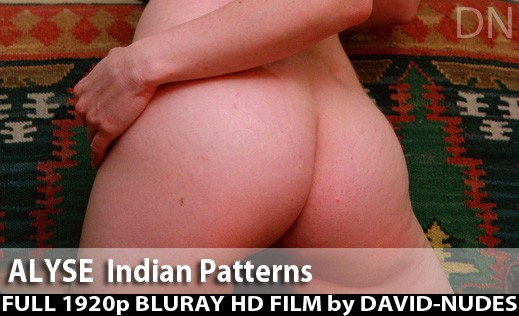 Alyse - `Indian Patterns` - by David Weisenbarger for DAVID-NUDES