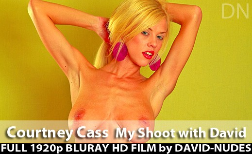 Courtney Cass - `My Shoot With David` - by David Weisenbarger for DAVID-NUDES