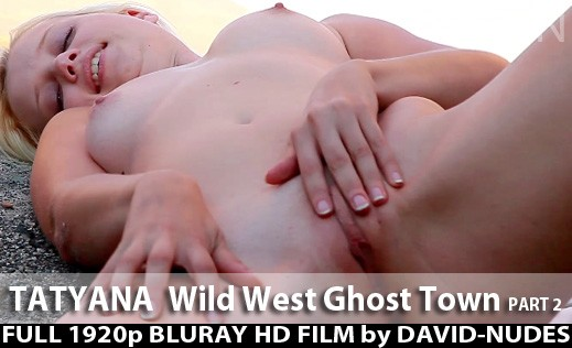 Tatyana - `Wild West Ghost Town - Part 2` - by David Weisenbarger for DAVID-NUDES