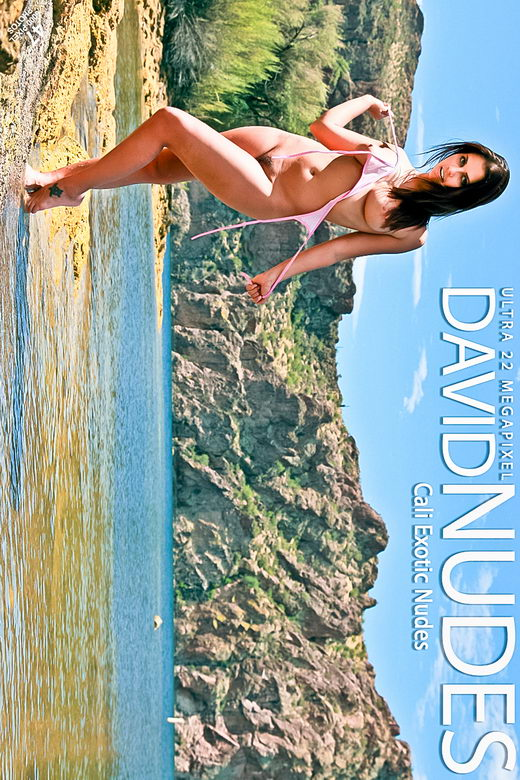 Cali - `Exotic Nudes` - by David Weisenbarger for DAVID-NUDES