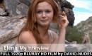 Elena - My Interview