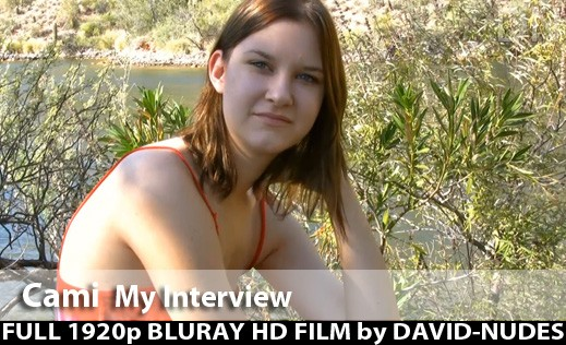 Cami - `My Interview` - by David Weisenbarger for DAVID-NUDES