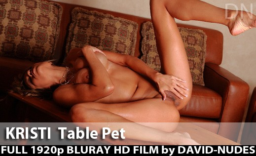 Kristi - `Table Pet` - by David Weisenbarger for DAVID-NUDES