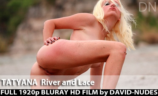 Tatyana - `River And Lace` - by David Weisenbarger for DAVID-NUDES