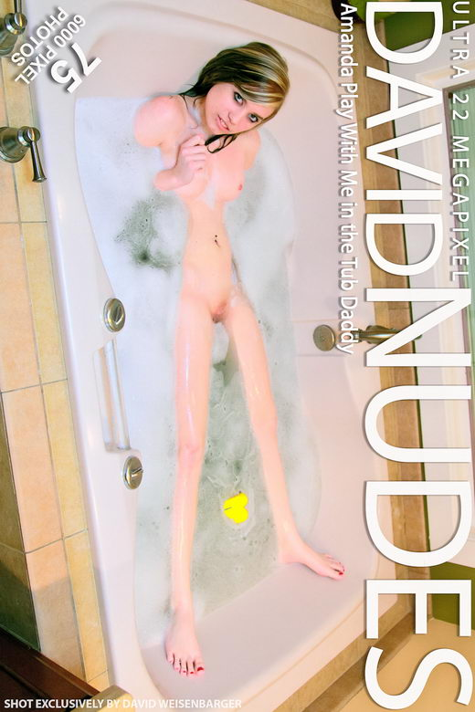 Amanda - `Play With Me In The Tub Daddy` - by David Weisenbarger for DAVID-NUDES