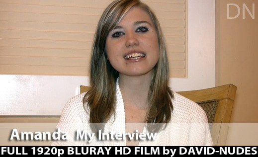 Amanda - `My Interview` - by David Weisenbarger for DAVID-NUDES