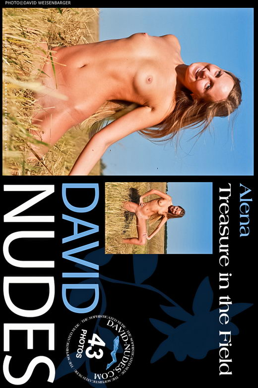 Alena - `Treasure In The Field` - by David Weisenbarger for DAVID-NUDES