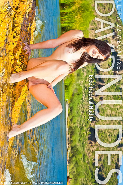 Bree - `Tropical Nudity` - by David Weisenbarger for DAVID-NUDES