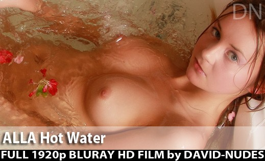 Alla - `Hot Water` - by David Weisenbarger for DAVID-NUDES