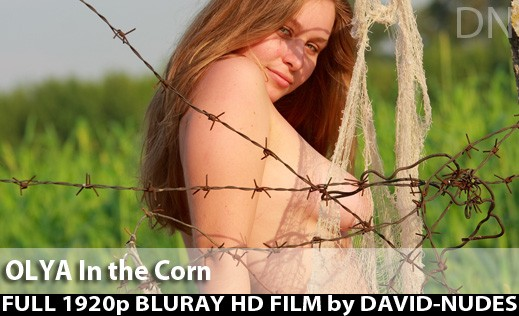 Olya - `In the Corn` - by David Weisenbarger for DAVID-NUDES