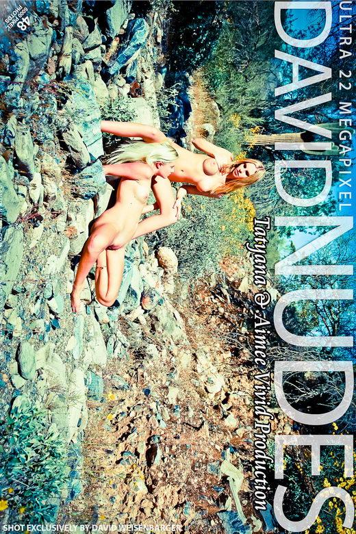Aimee & Tatyana - `Vivid Production` - by David Weisenbarger for DAVID-NUDES