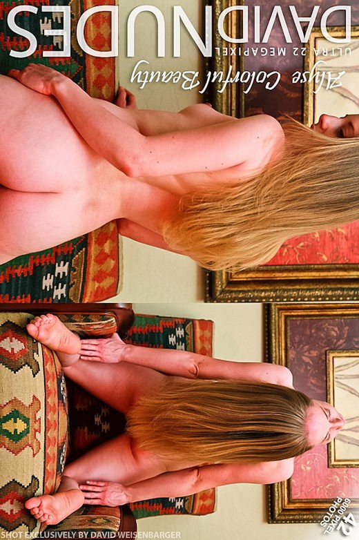 Alyse - `Colorful Beauty` - by David Weisenbarger for DAVID-NUDES