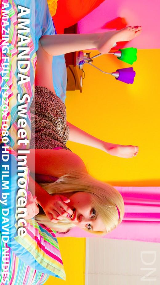 Amanda - `Sweet Innocence` - by David Weisenbarger for DAVID-NUDES