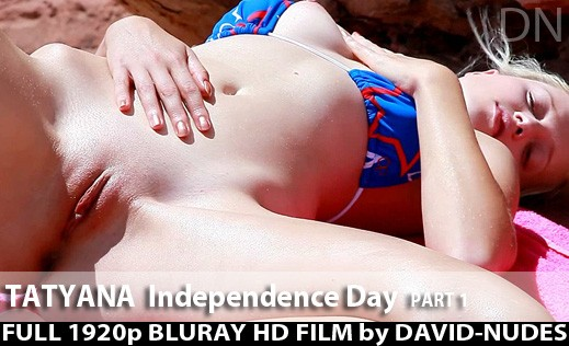Tatyana - `Independence Day - Part 1` - by David Weisenbarger for DAVID-NUDES