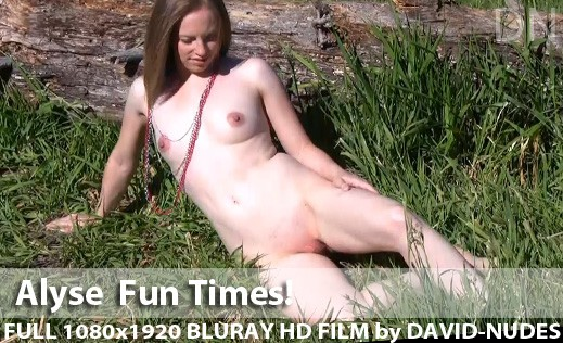 Alyse - `Fun Times!` - by David Weisenbarger for DAVID-NUDES