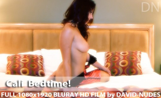 Cali - `Bedtime!` - by David Weisenbarger for DAVID-NUDES