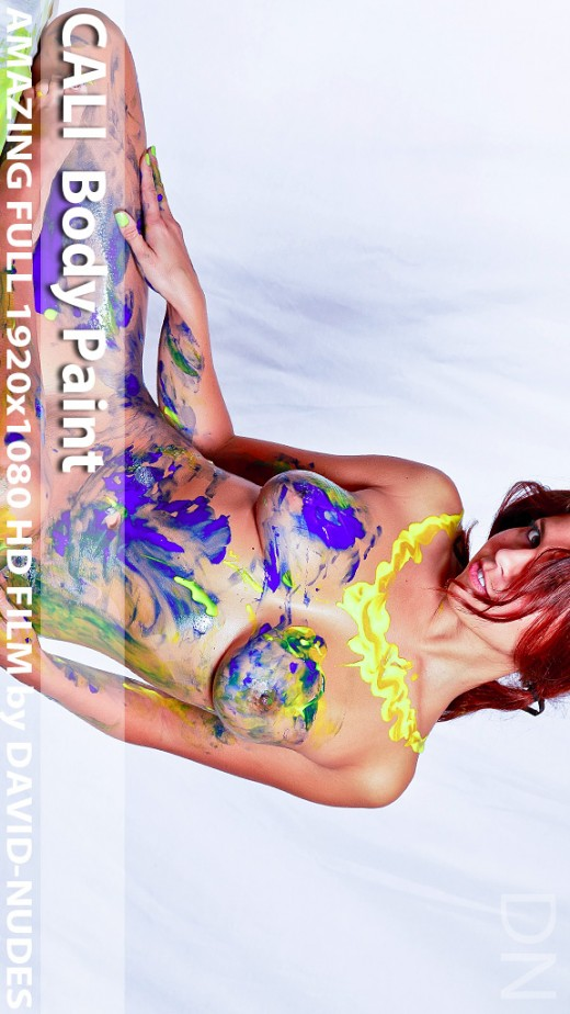 Cali - `Body Paint` - by David Weisenbarger for DAVID-NUDES