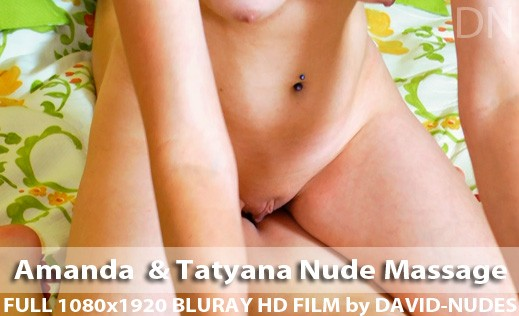 Amanda & Tatyana - `Nude Massage` - by David Weisenbarger for DAVID-NUDES