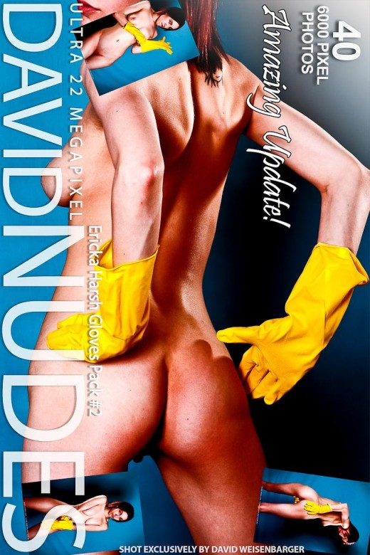 Ericka - `Harsh Gloves - Pack #2` - by David Weisenbarger for DAVID-NUDES