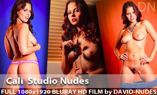 Cali - `Studio Nudes` - by David Weisenbarger for DAVID-NUDES