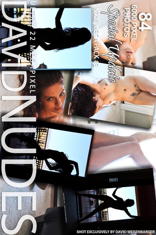 Nikki - `Mega Pack #3` - by David Weisenbarger for DAVID-NUDES