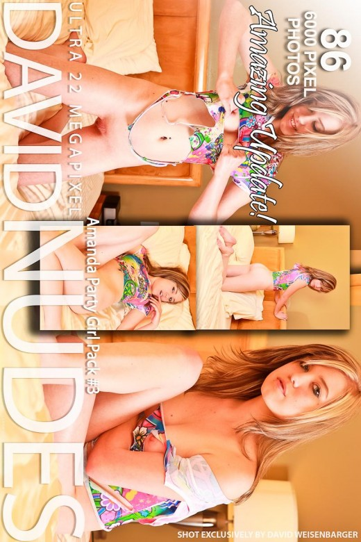 Amanda - `Party Girl - Pack #3` - by David Weisenbarger for DAVID-NUDES