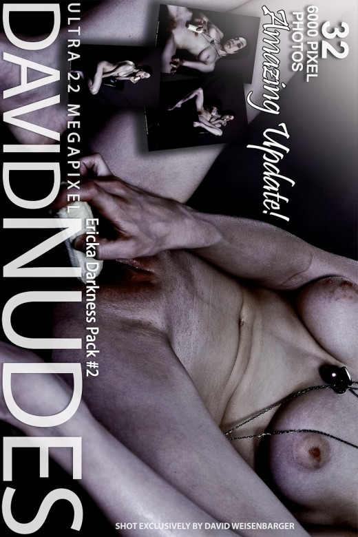 Ericka - `Darkness - Pack #2` - by David Weisenbarger for DAVID-NUDES