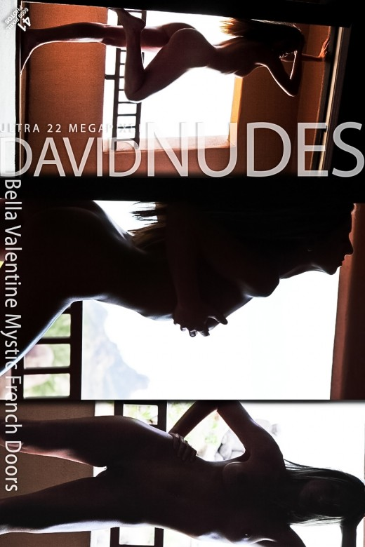 Bella Valentine - `Mystic French Doors` - by David Weisenbarger for DAVID-NUDES
