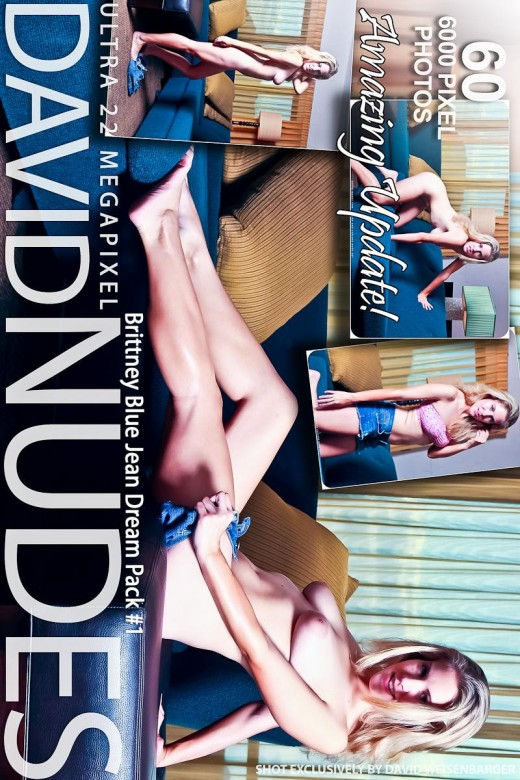 Brittney - `Blue Jean Dream - Pack #1` - by David Weisenbarger for DAVID-NUDES