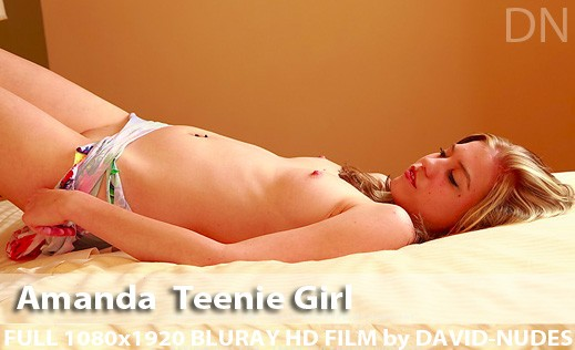 Amanda - `Teenie Girl` - by David Weisenbarger for DAVID-NUDES