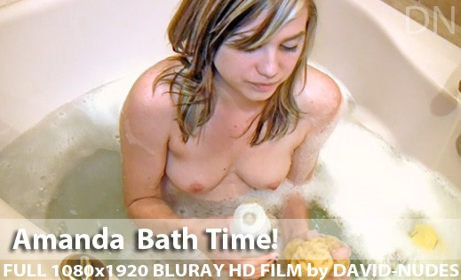 Amanda - `Bath Time!` - by David Weisenbarger for DAVID-NUDES