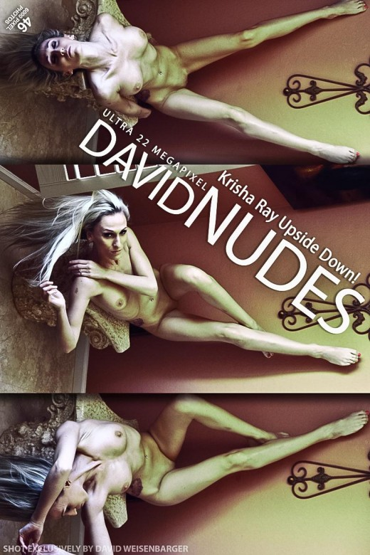 Krisha Ray - `Upside Down!` - by David Weisenbarger for DAVID-NUDES