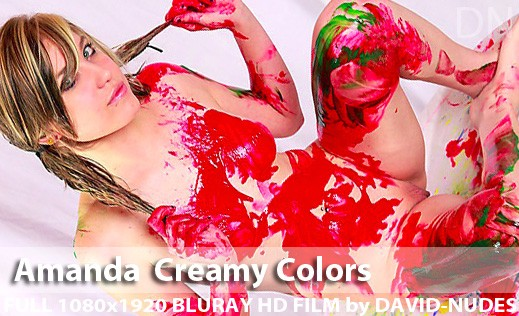 Amanda - `Creamy Colors` - by David Weisenbarger for DAVID-NUDES