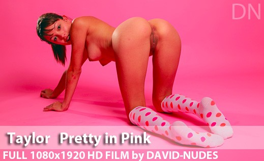 Taylor - `Pretty In Pink` - by David Weisenbarger for DAVID-NUDES