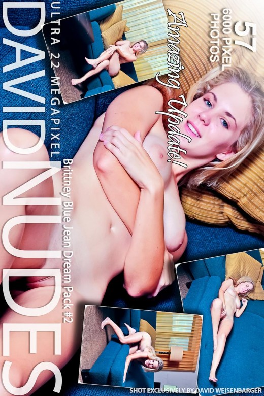 Brittney - `Blue Jean Dream - Pack #2` - by David Weisenbarger for DAVID-NUDES