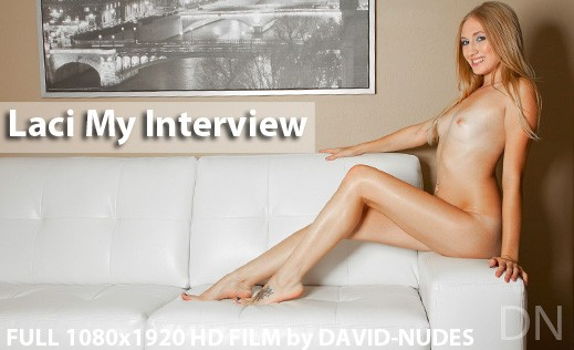 Laci - `My Interview` - by David Weisenbarger for DAVID-NUDES