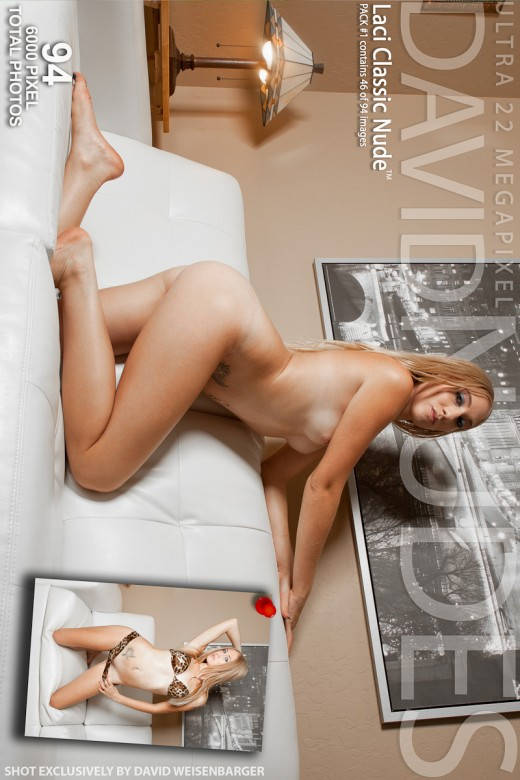 Laci - `Classic Nude - Pack #1` - by David Weisenbarger for DAVID-NUDES