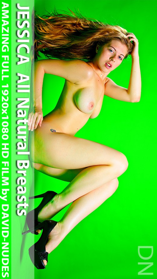 Jessica - `All Natural Breasts` - by David Weisenbarger for DAVID-NUDES