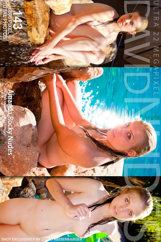 Amanda - `Rocky Nudes - Pack #1` - by David Weisenbarger for DAVID-NUDES