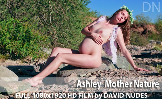 Ashley - `Mother Nature` - by David Weisenbarger for DAVID-NUDES