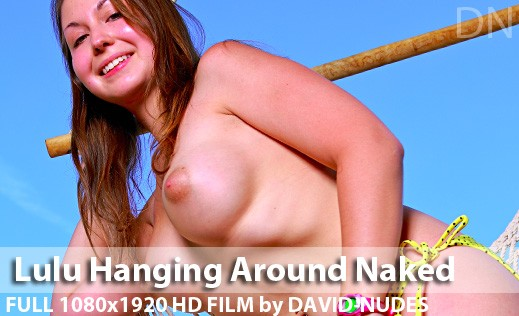 Lulu - `Hanging Around Naked` - by David Weisenbarger for DAVID-NUDES