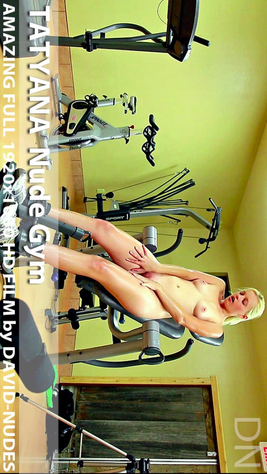 Tatyana - `Nude Gym` - by David Weisenbarger for DAVID-NUDES