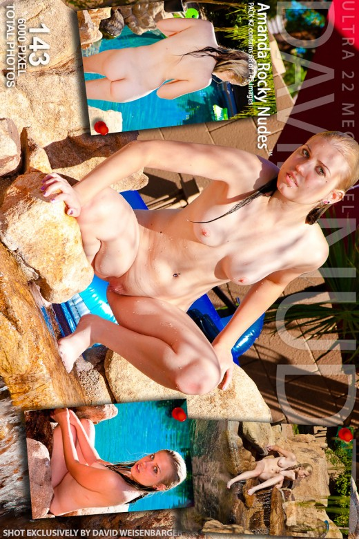 Amanda - `Rocky Nudes - Pack #2` - by David Weisenbarger for DAVID-NUDES