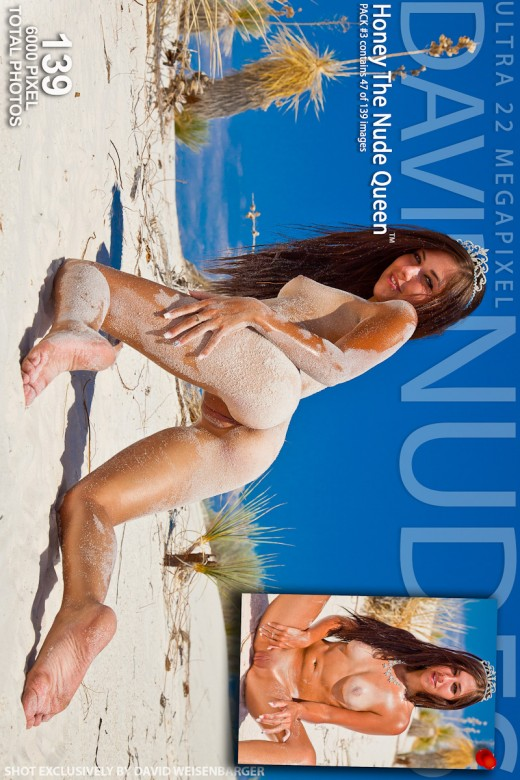 Honey - `The Nude Queen - Pack #3` - by David Weisenbarger for DAVID-NUDES
