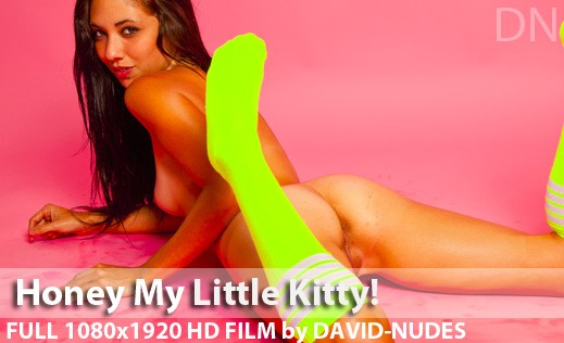Honey - `My Little Kitty!` - by David Weisenbarger for DAVID-NUDES