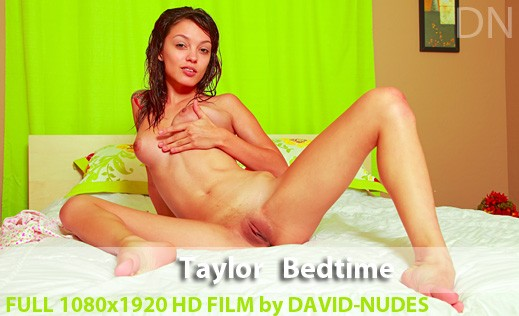 Taylor - `Bedtime` - by David Weisenbarger for DAVID-NUDES