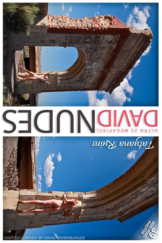 Tatyana - `Ruins` - by David Weisenbarger for DAVID-NUDES
